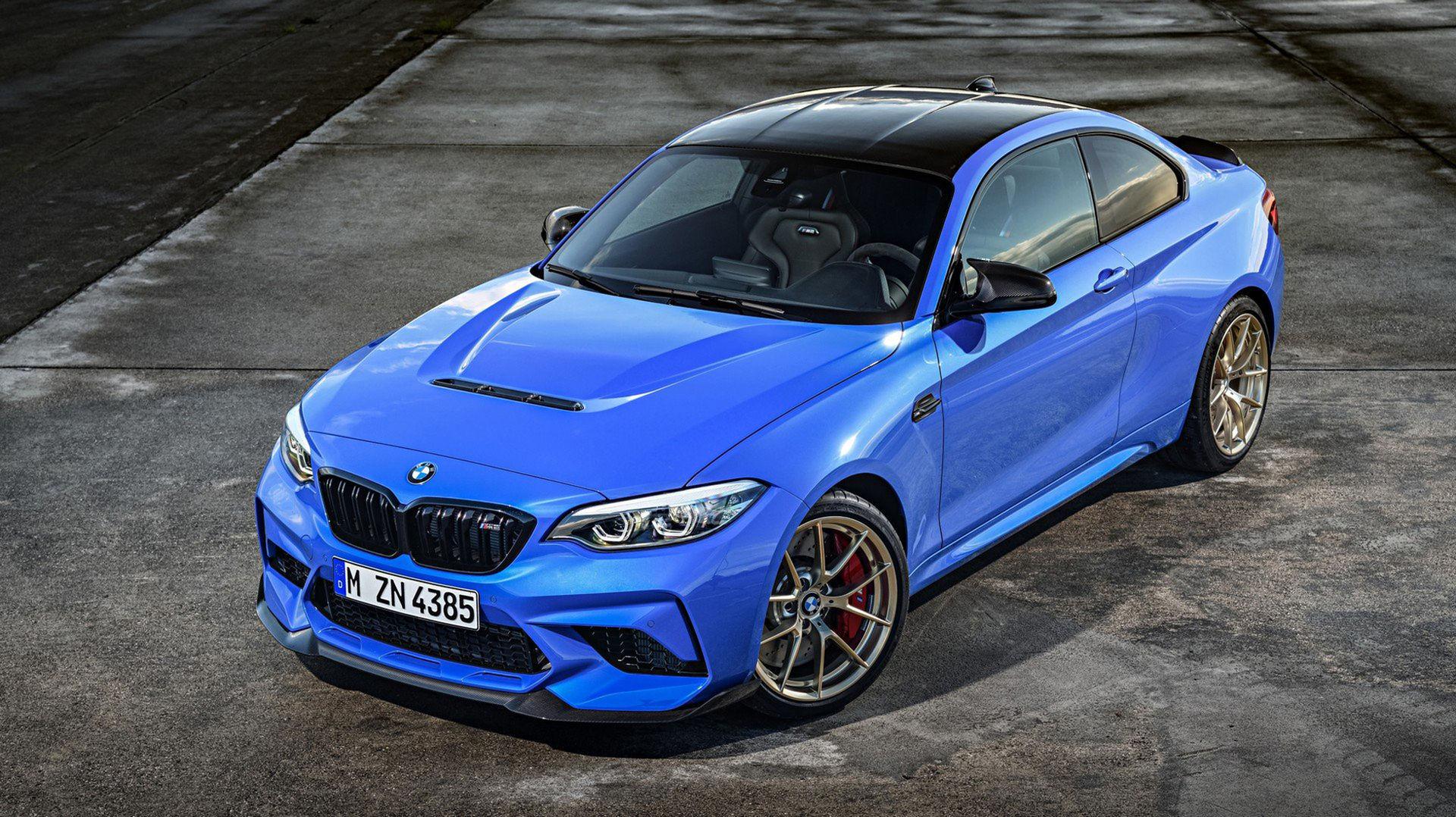 BMW rullar ut M2 CS