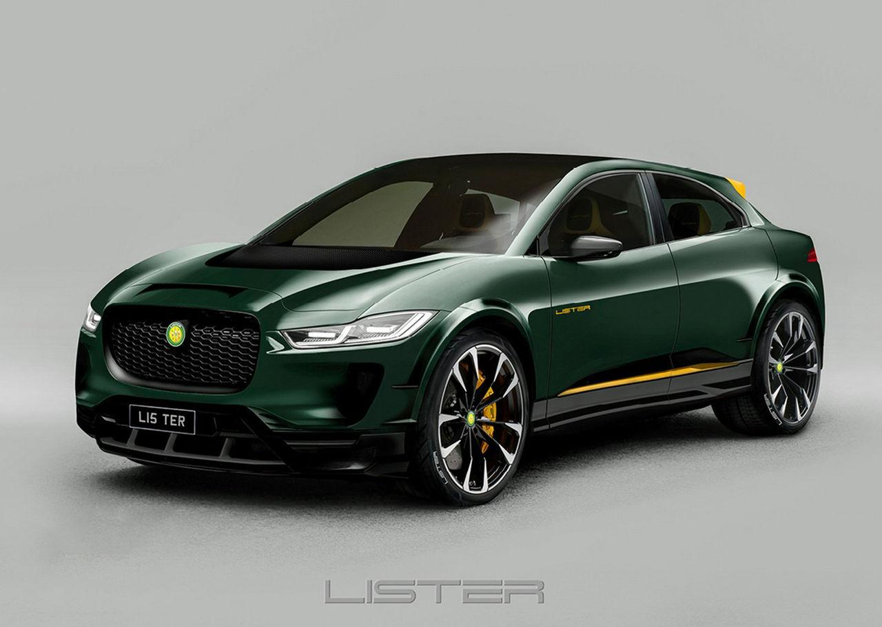 Lister har piffat till Jaguar I-Pace