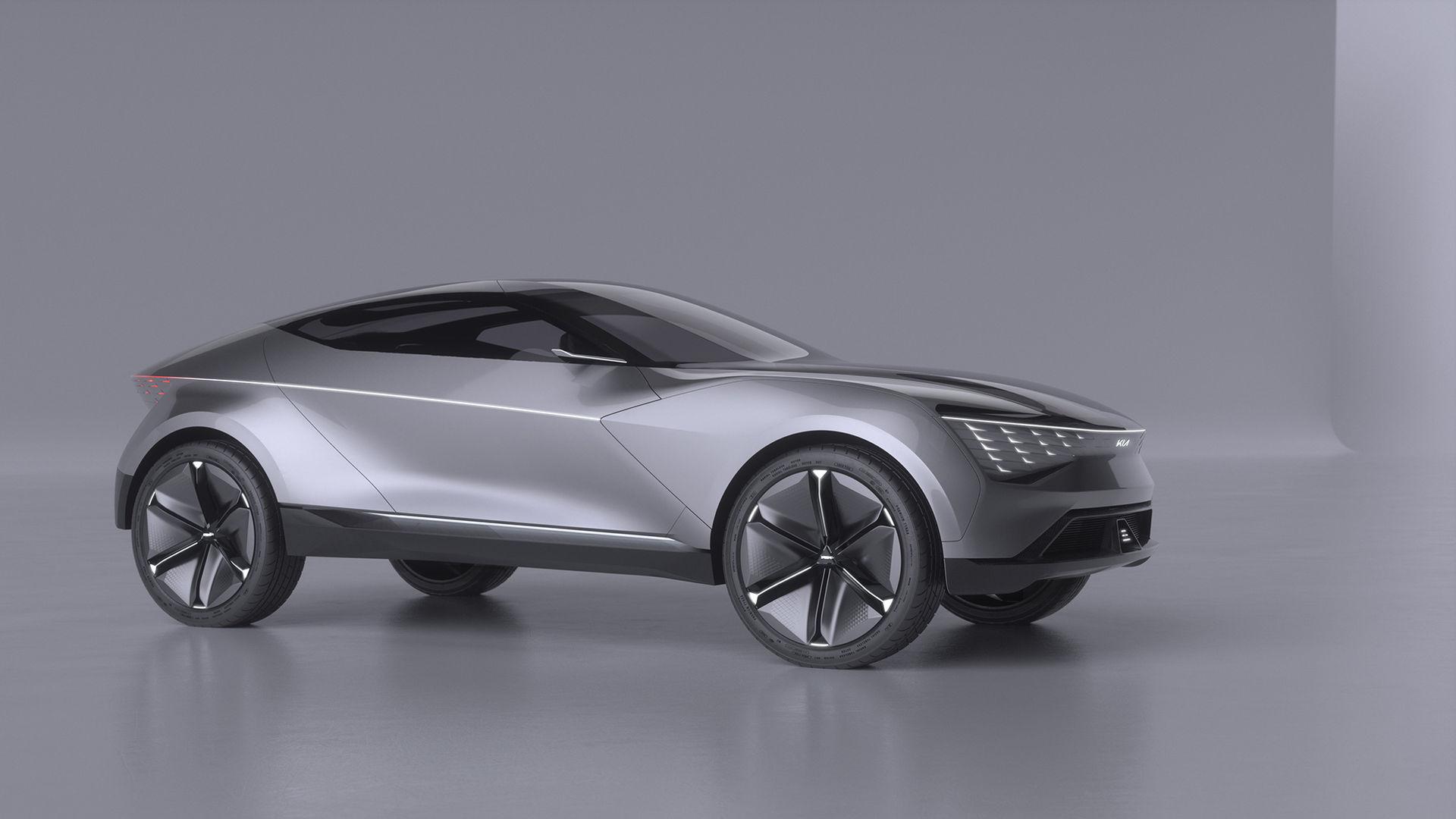 Futuron - ny eldriven konceptbil från Kia