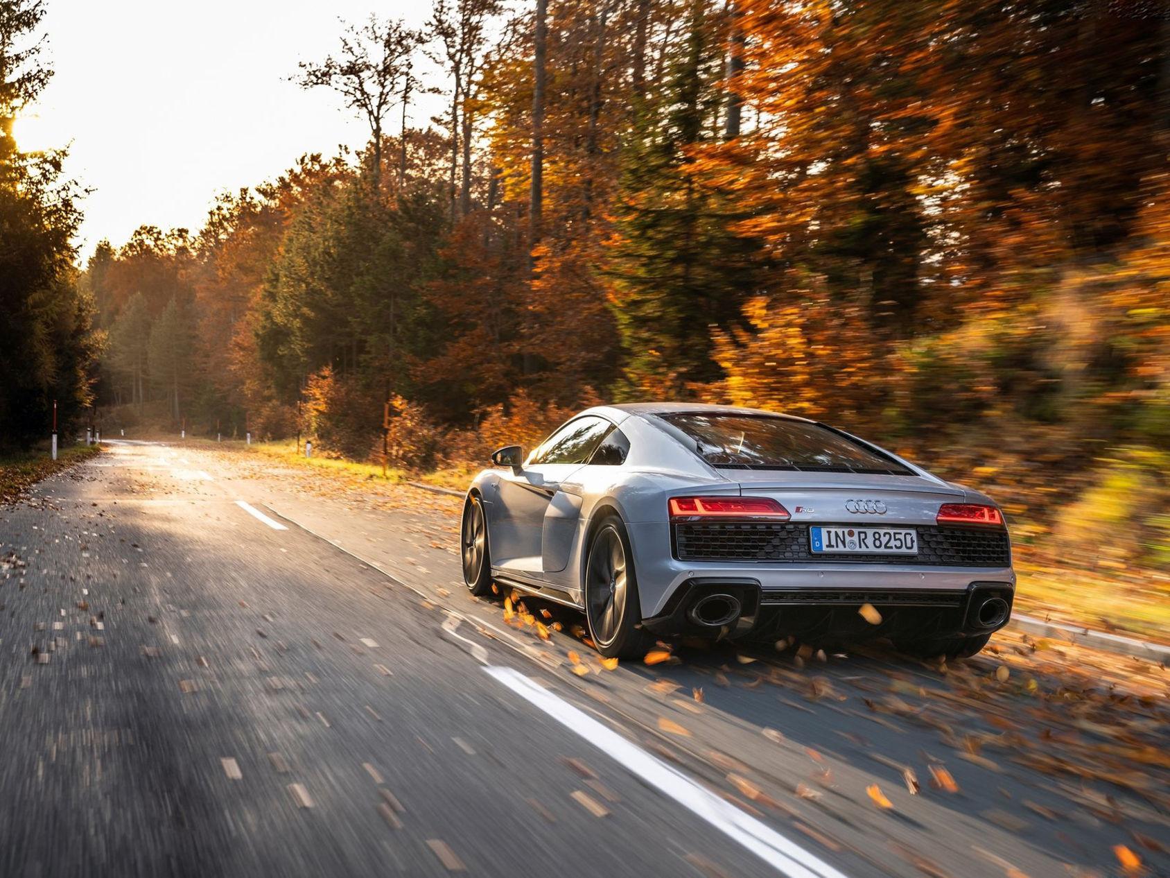 Nu kan du få nya Audi R8 med bara bakhjulsdrift