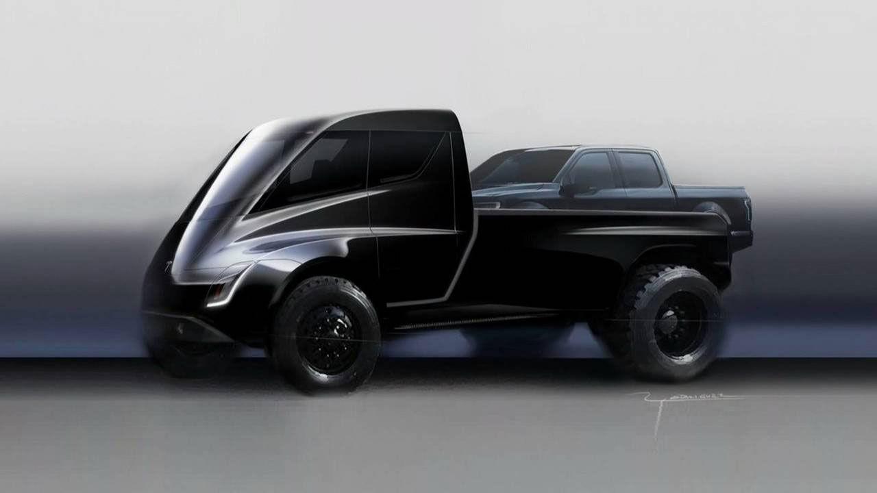 Tesla visar sin pickup den 21 november