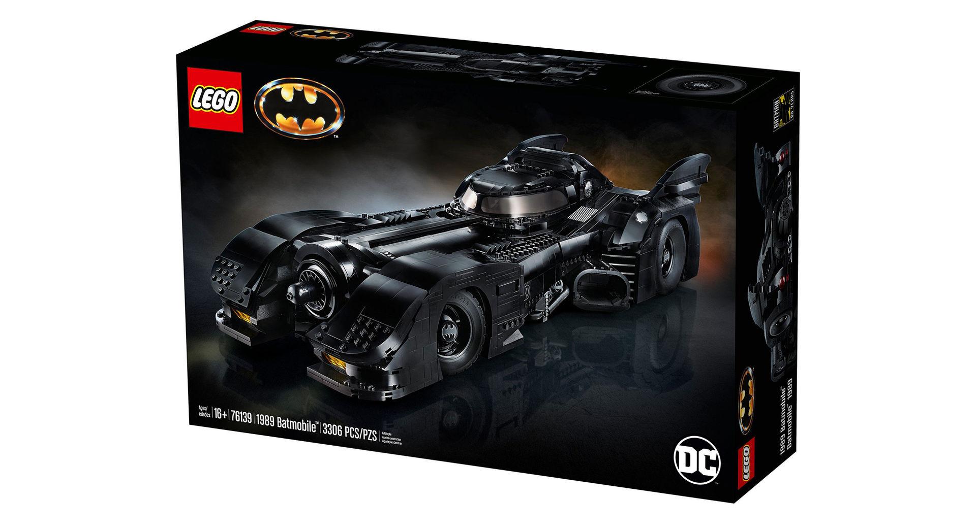 Lego släpper Batmobilen från 1989