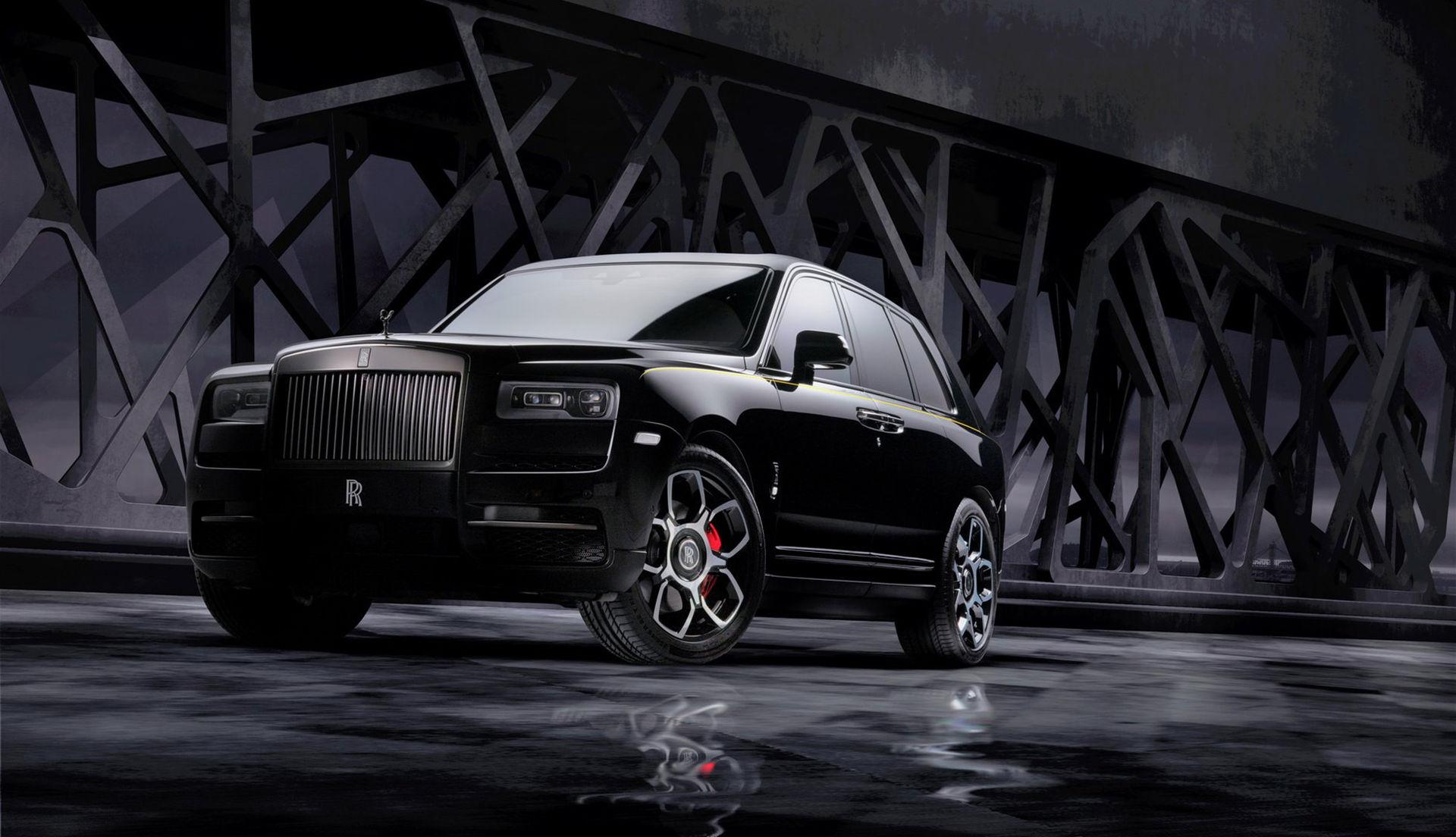 Rolls-Royce Cullinan nu även som Black Badge