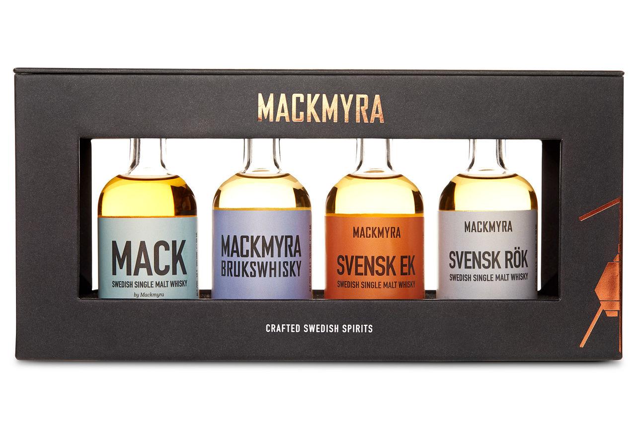 Fyra av Mackmyras klassiker i mindre format