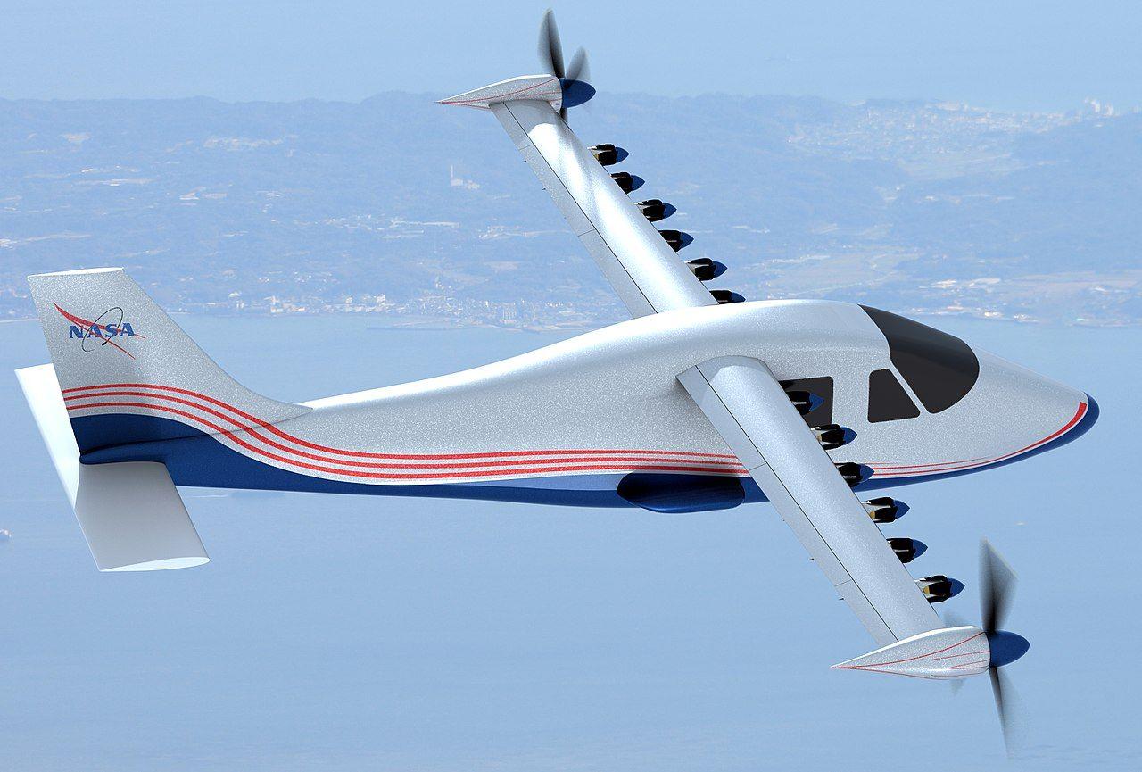 NASA visar upp elflygplanet X-57