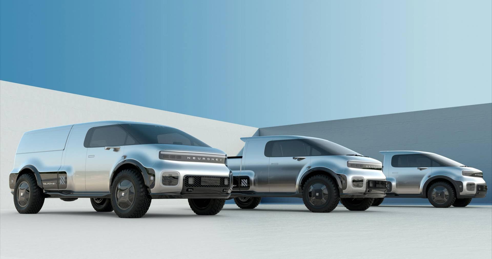 Ny eldriven pickup och lastbil från Kalifornien