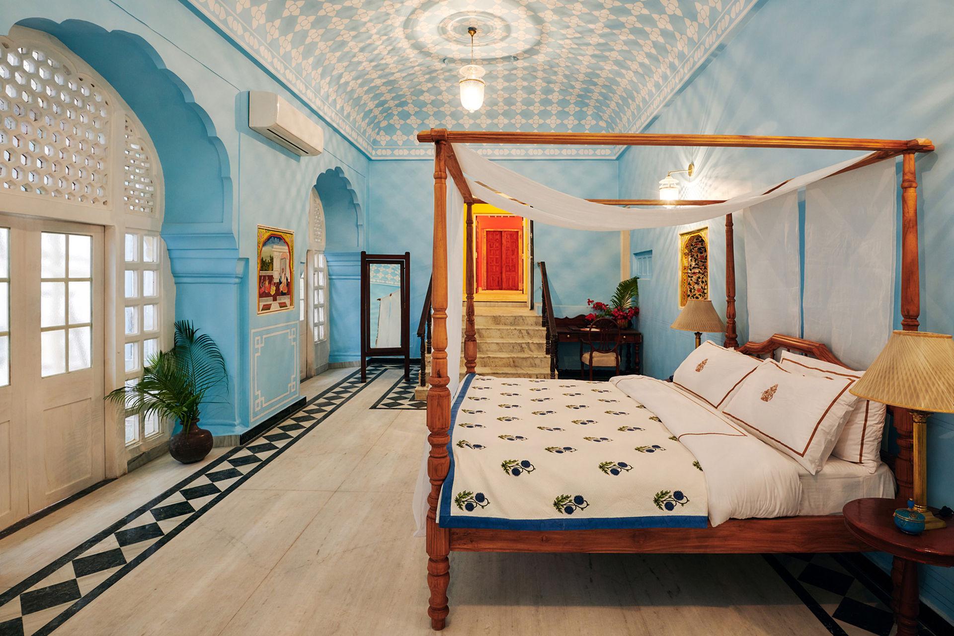 Nu kan du bo i stadspalatset i Jaipur