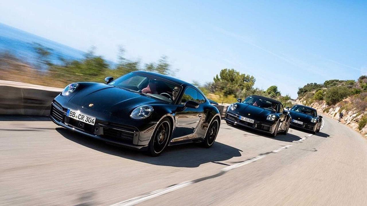 650 hästar i nya Porsche 911 Turbo S