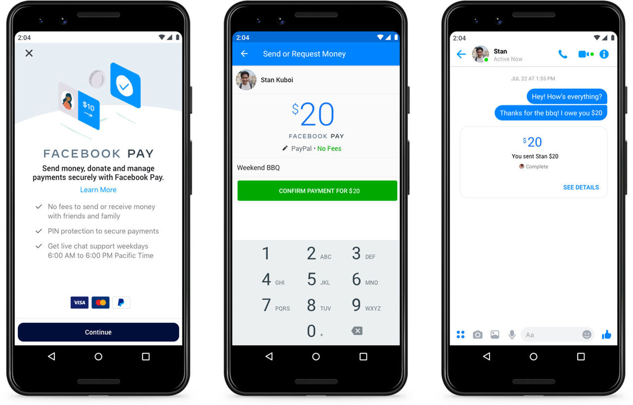 Facebook lanserar Facebook Pay