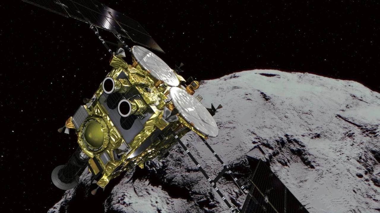Japans asteroidjagare vänder hemåt