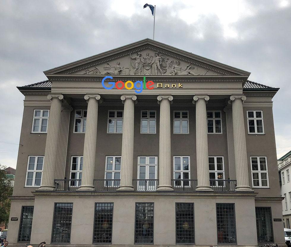 Google verkar sugna på att starta en bank