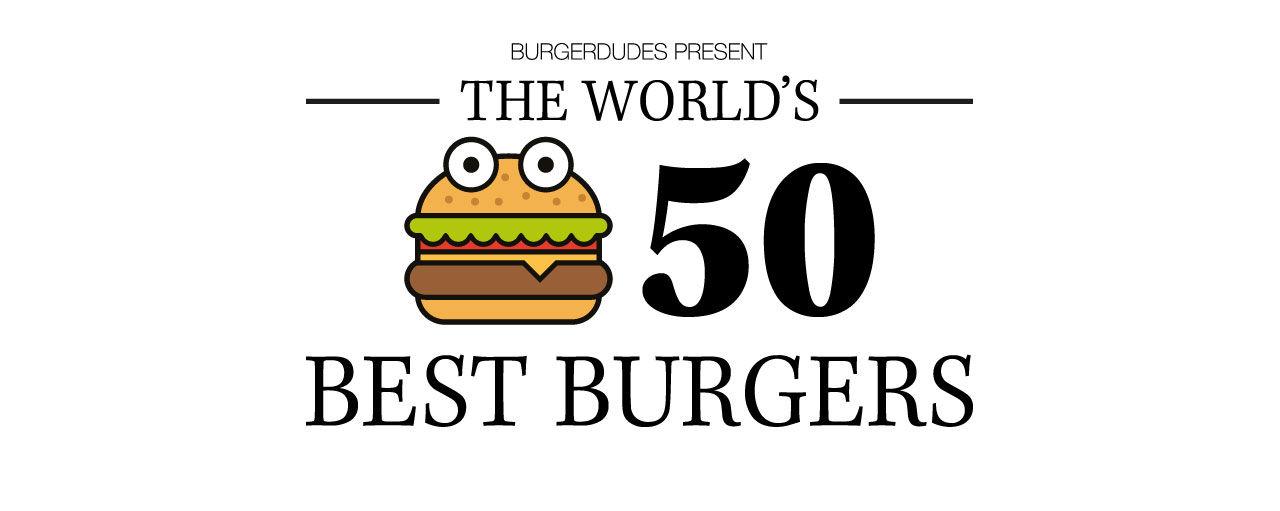 Burgerdudes rankar världens 50 bästa burgare