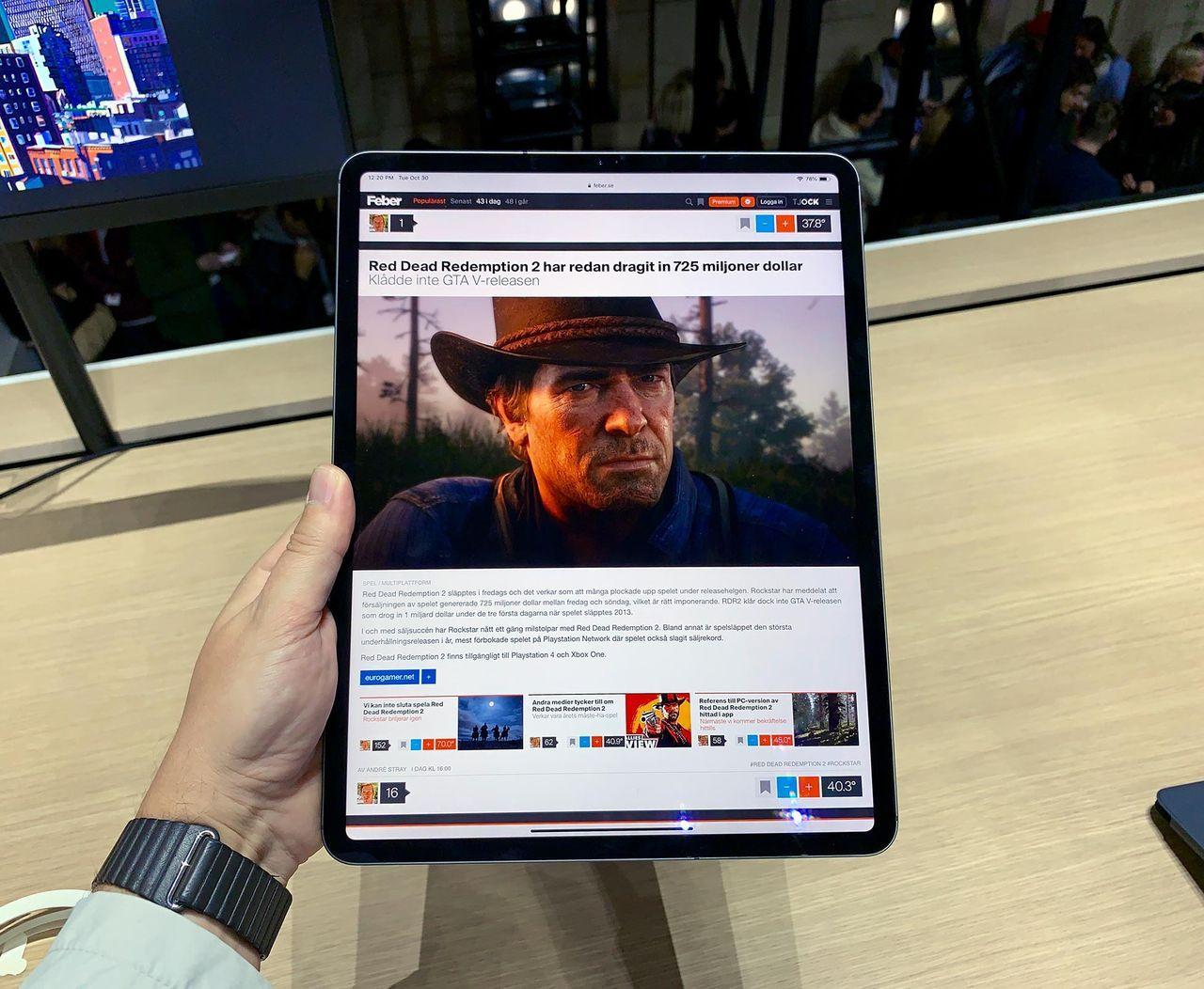 Apple ryktas släppa iPad Pro med 3D-kamera nästa år