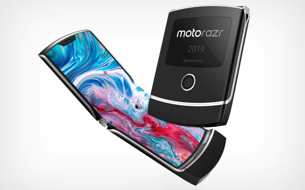 Motorola presenterar RAZR med vikbar skärm