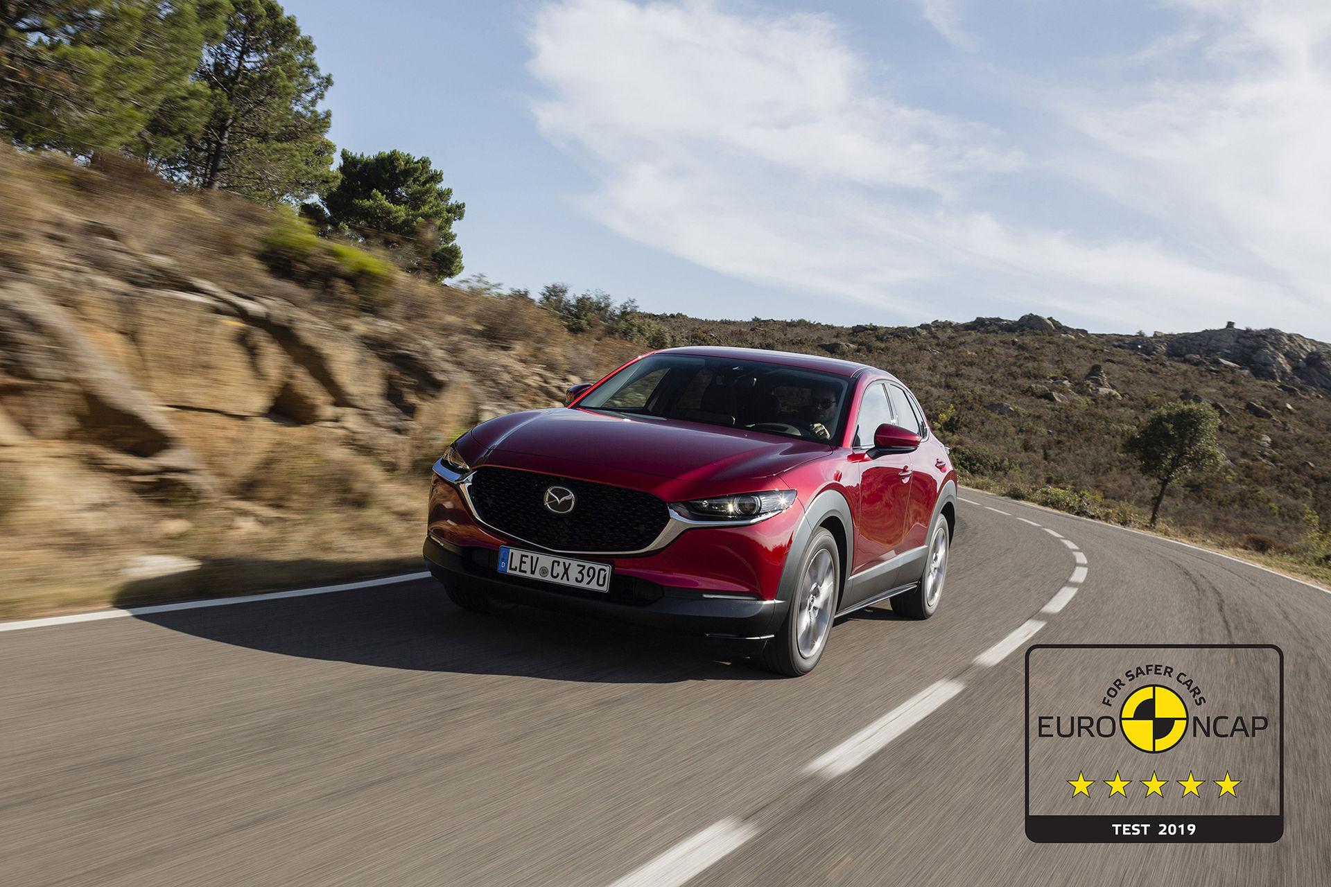 Toppbetyg i Euro NCAP för Mazda CX-30