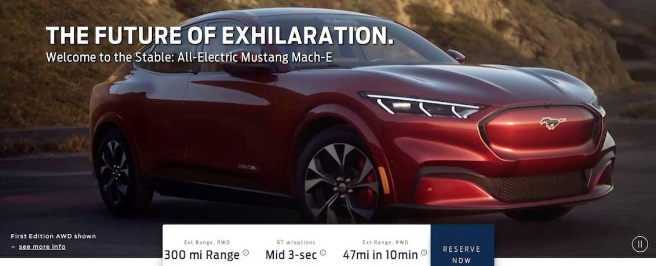Ford Mustang Mach-E läcker ut