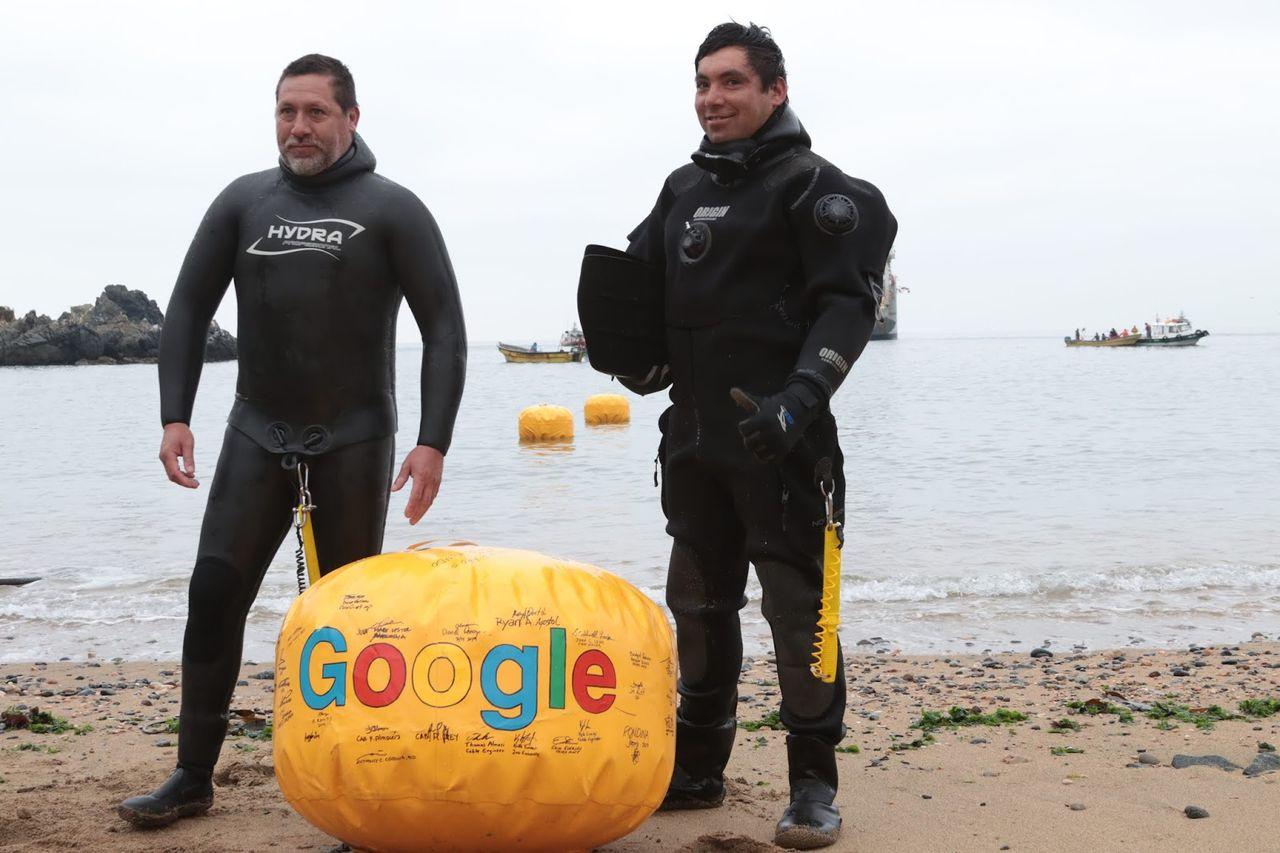 Nu har Google kickat igång sin Stilla Havs-kabel Curie