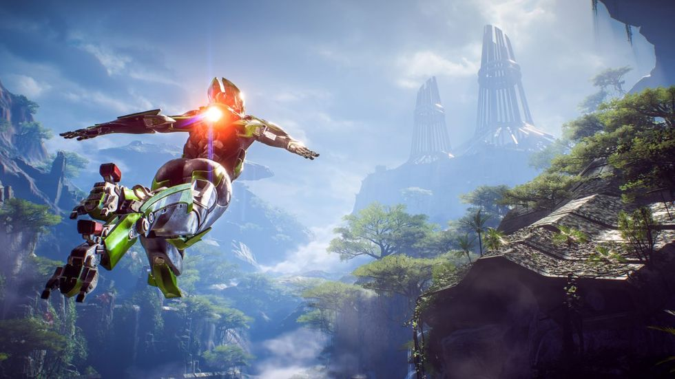 BioWare sägs vilja bygga om Anthem