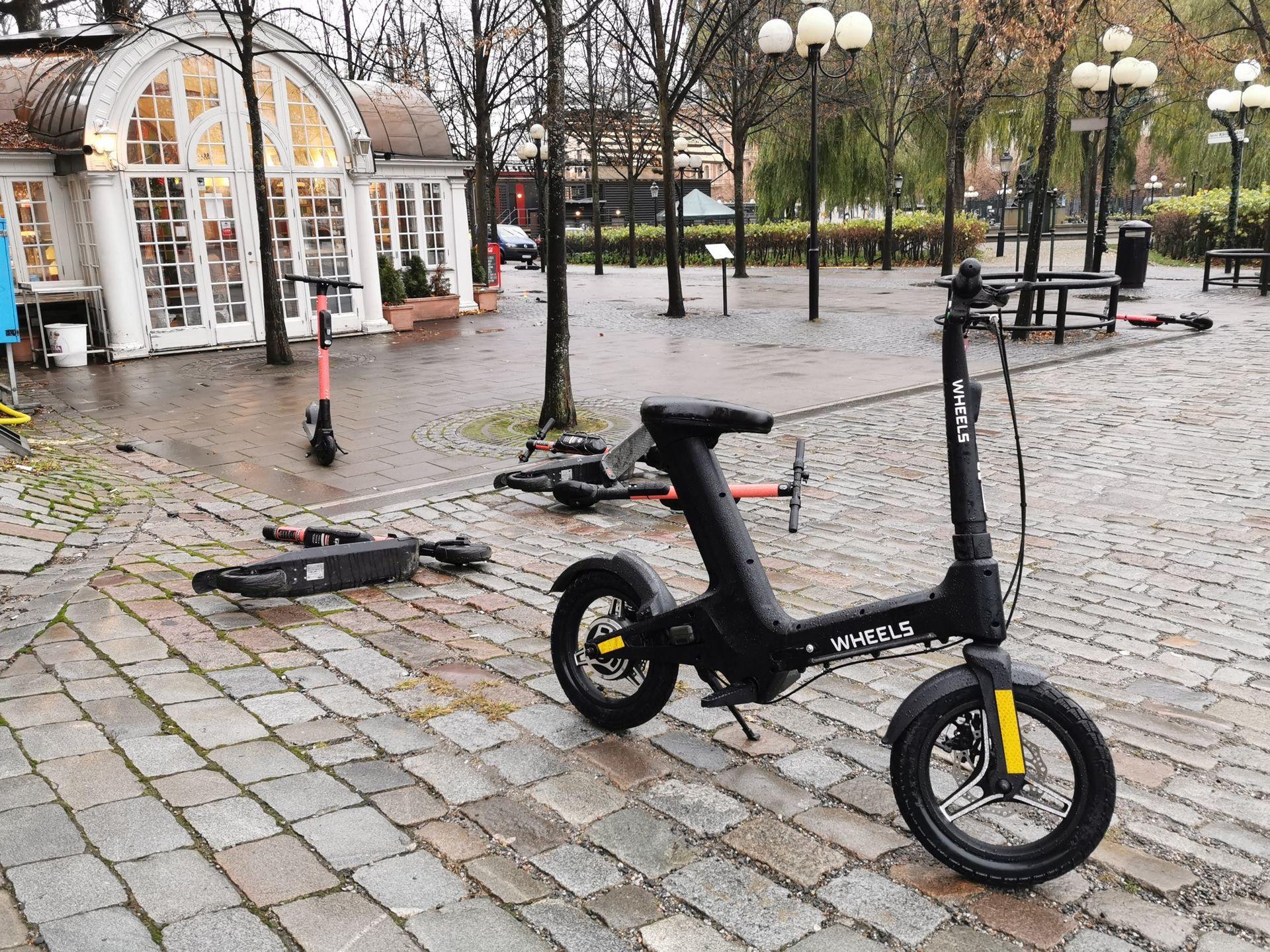 Idag lanseras cykeltjänsten Wheels i Stockholm
