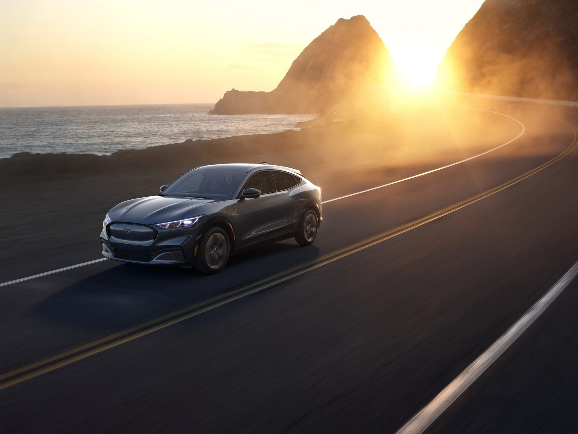 Ford presenterar eldrivna Mustang Mach-E
