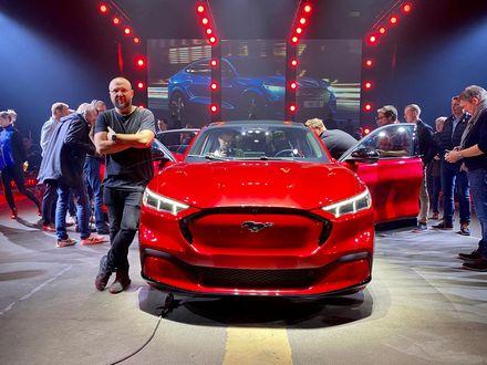 Det här är Europa versionen av Ford Mustang Mach E. Får