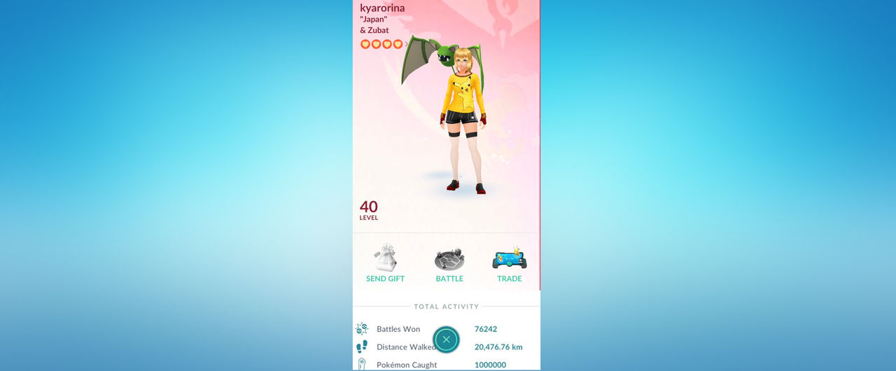 Nu har någon fångat en miljon fickmonster i Pokémon Go