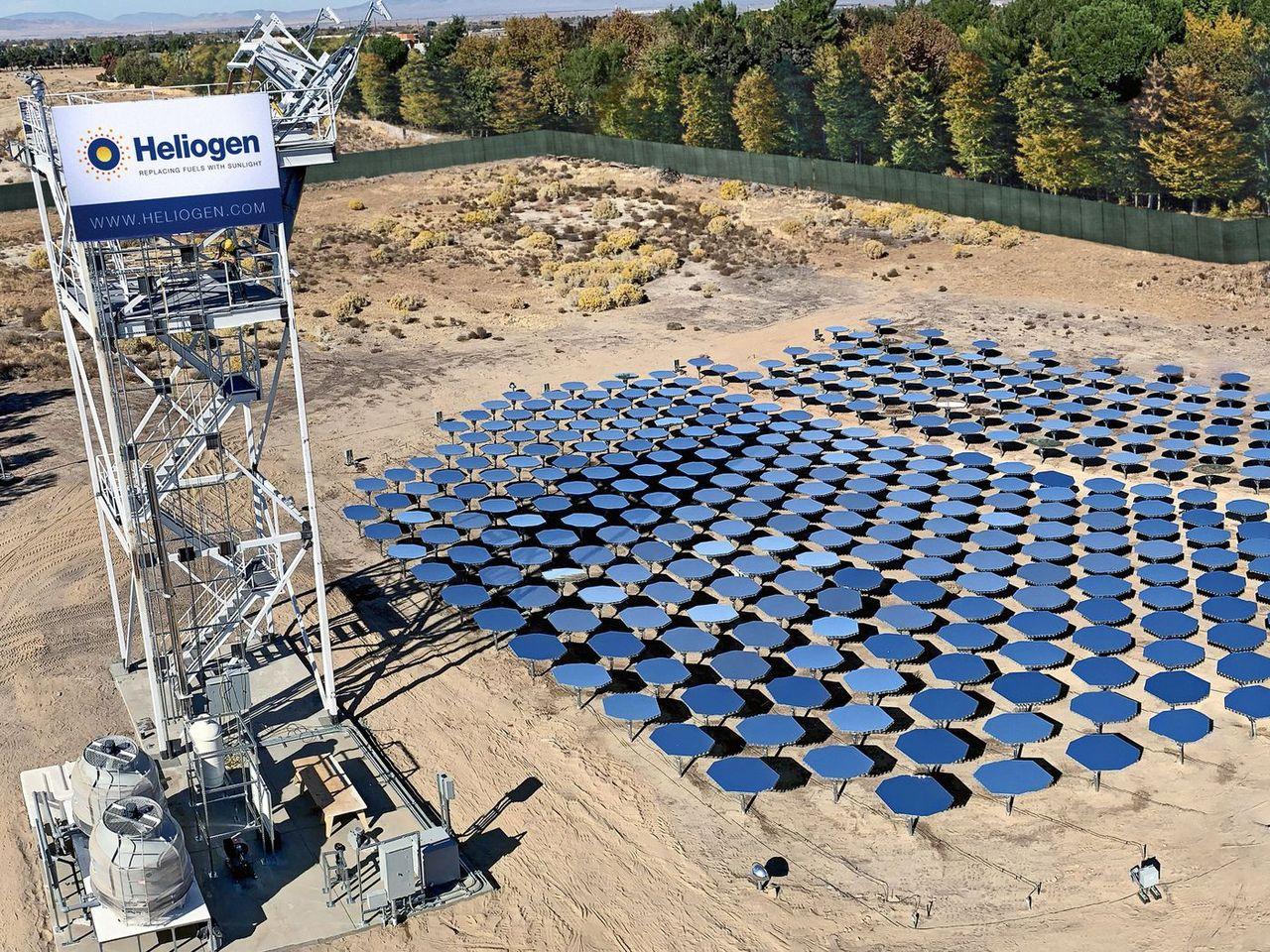Heliogens solenergi-lösning kan smälta metall
