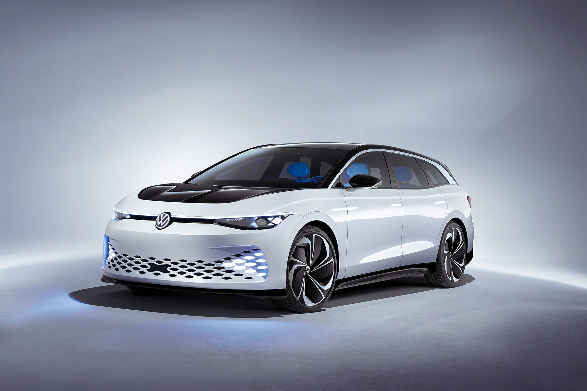Volkswagen presenterar den eldrivna kombin ID. Space Vizzion