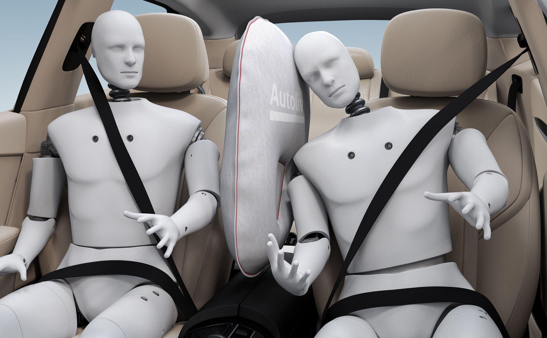Autolivs nya krockkudde skyddar mot skallningar
