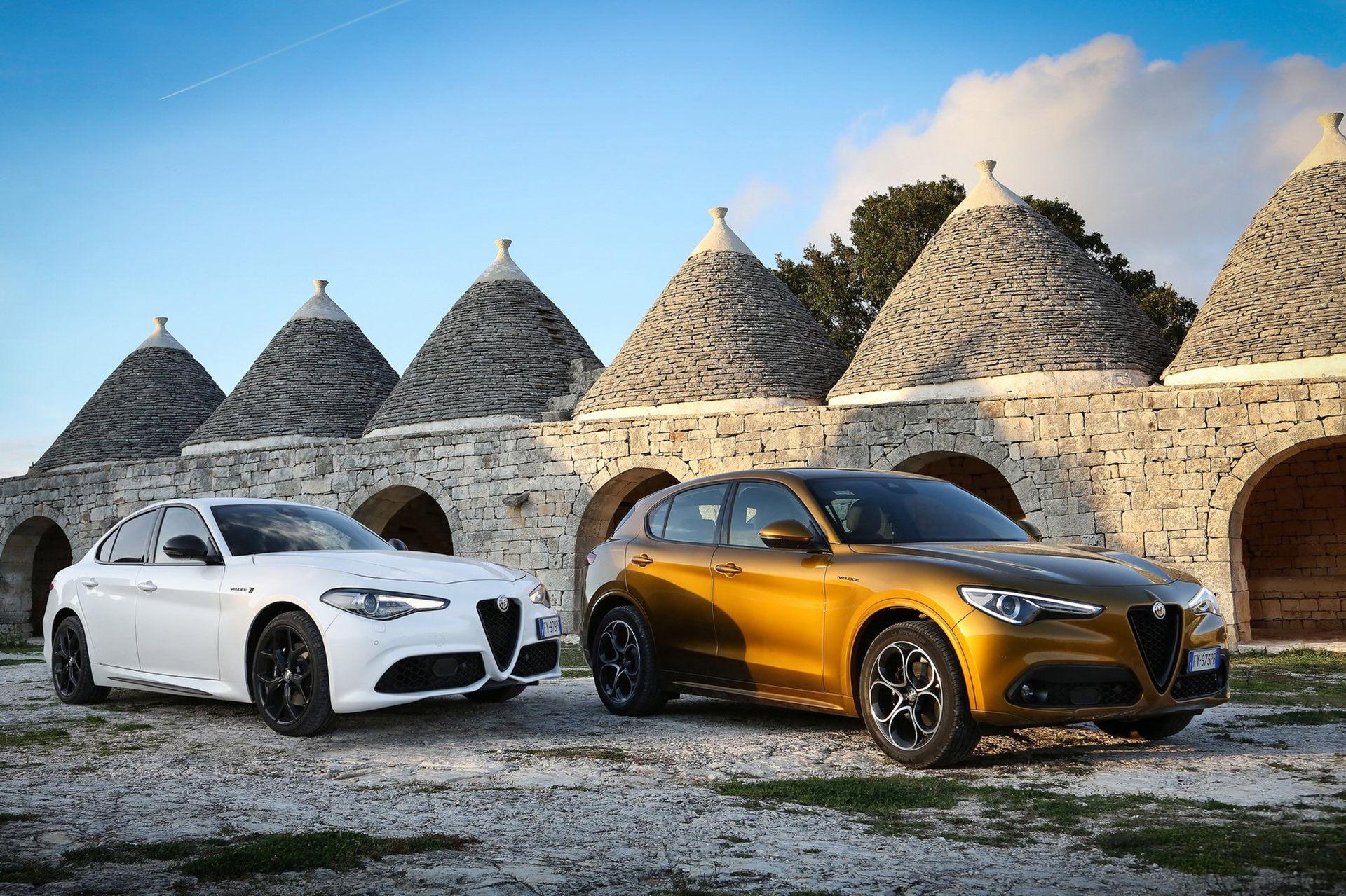En bättre titt på uppdaterade Alfa Romeo Giulia och Stelvio