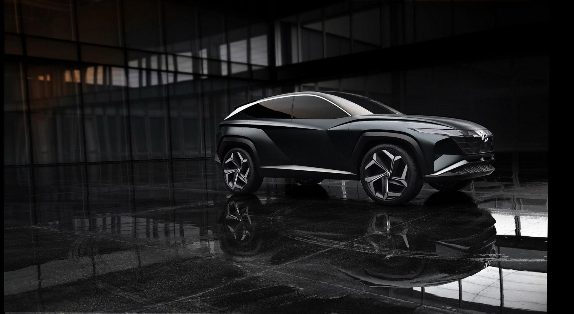 Hyundai presenterar Vision T SUV Concept