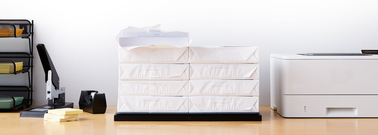 Amazon Smart Dash Shelf håller koll på kontorsmaterial