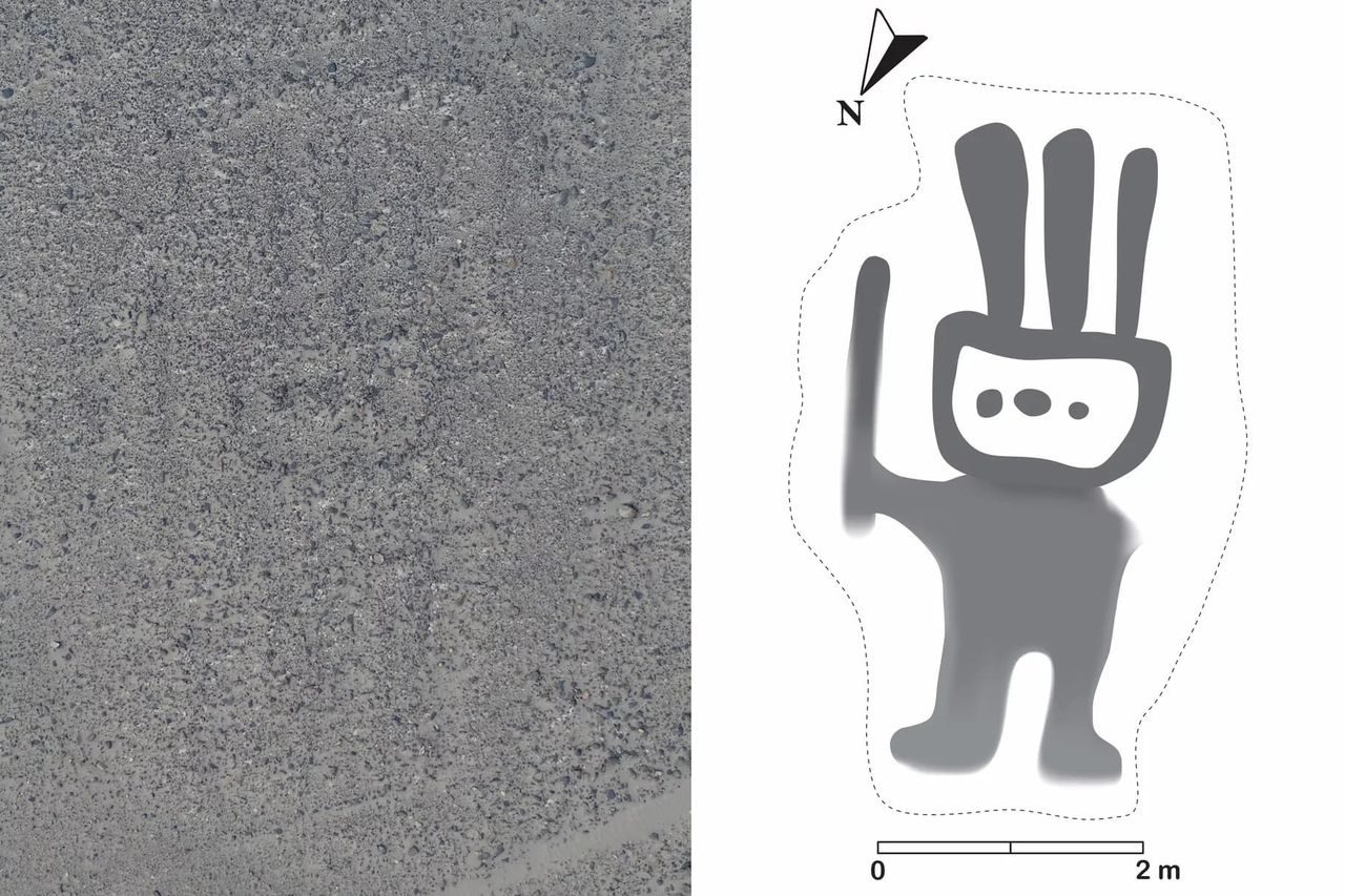 Artificiell intelligens hittar ny Nascalinje i Peru