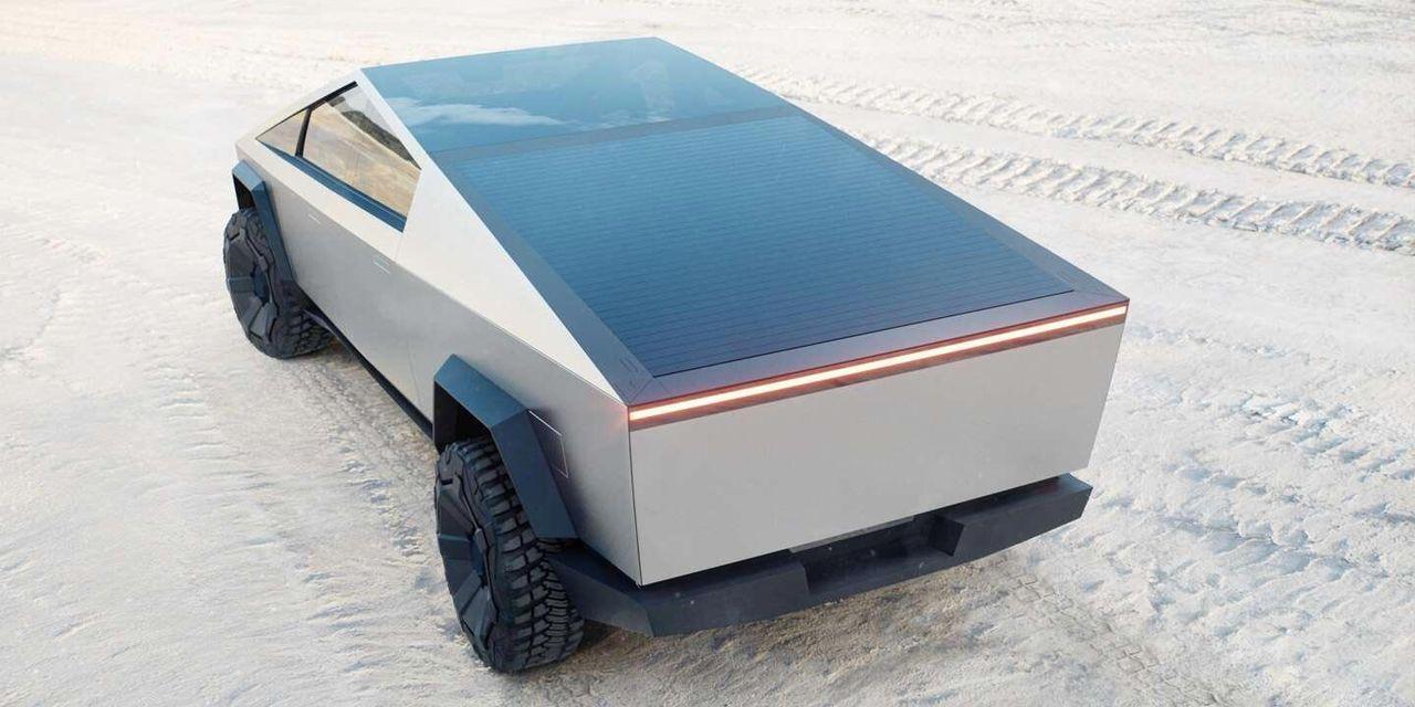 Teslas Cybertruck kommer att ha solceller som tillval