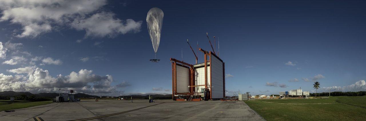 Alphabets internet-ballonger ska koppla upp Amazonas