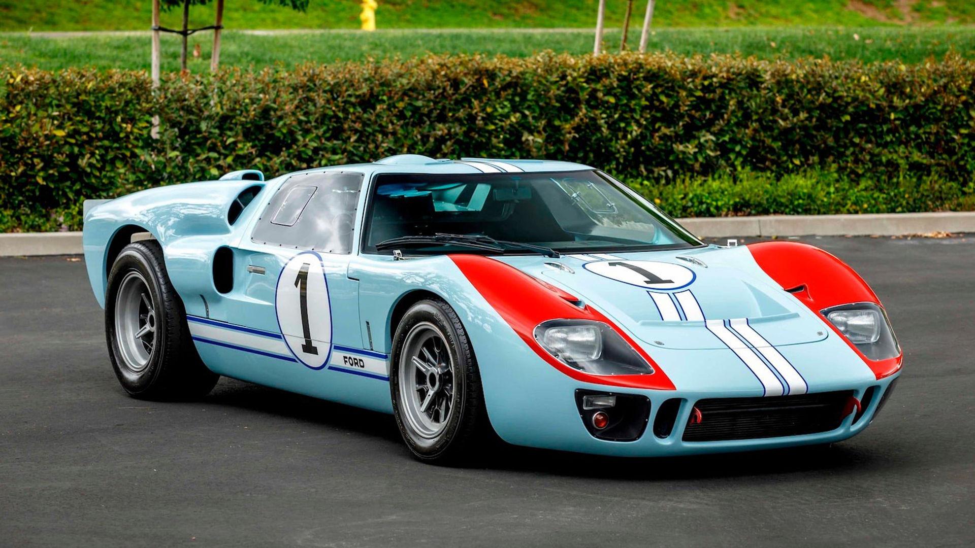 GT40:n från Ford v Ferrari snart på auktion