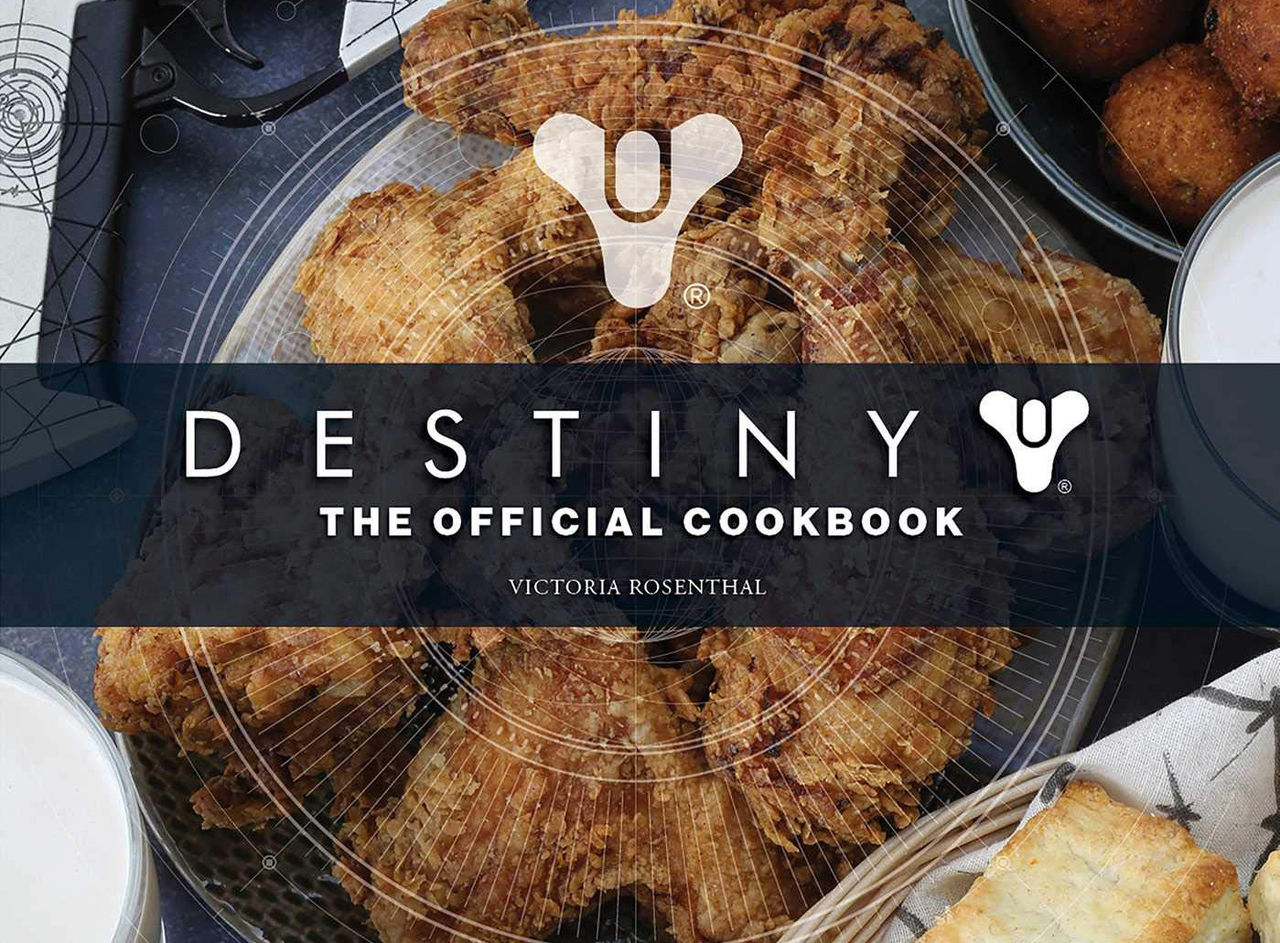 Destiny får officiell kokbok