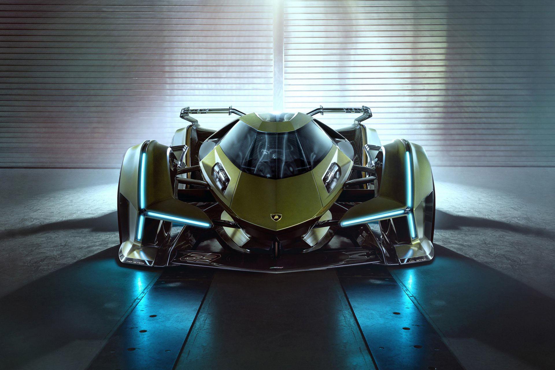 Lamborghini presenterar ny bil för TV-spelet Gran Turismo