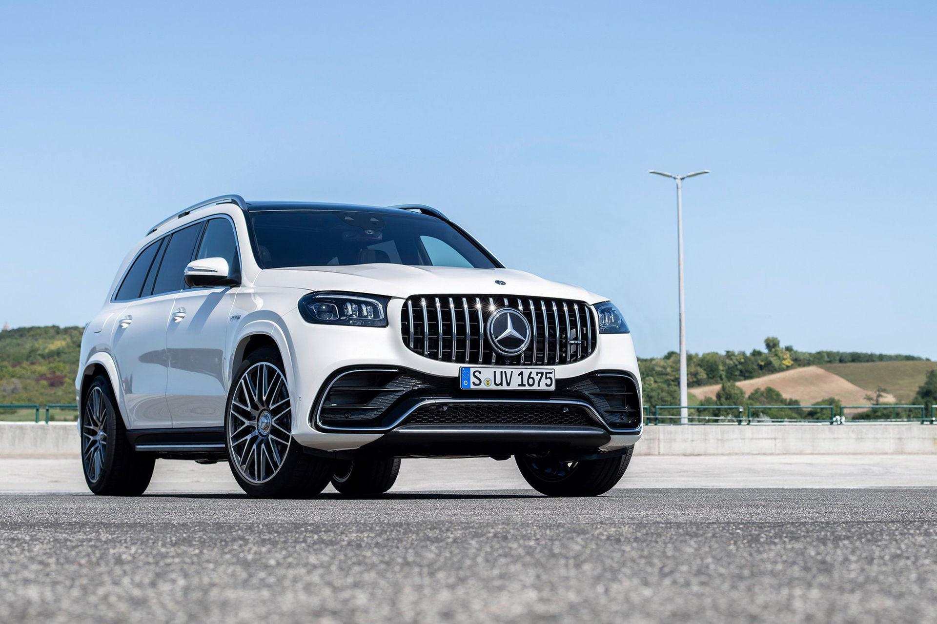 Här är uppdaterade Mercedes-AMG GLS 63 S