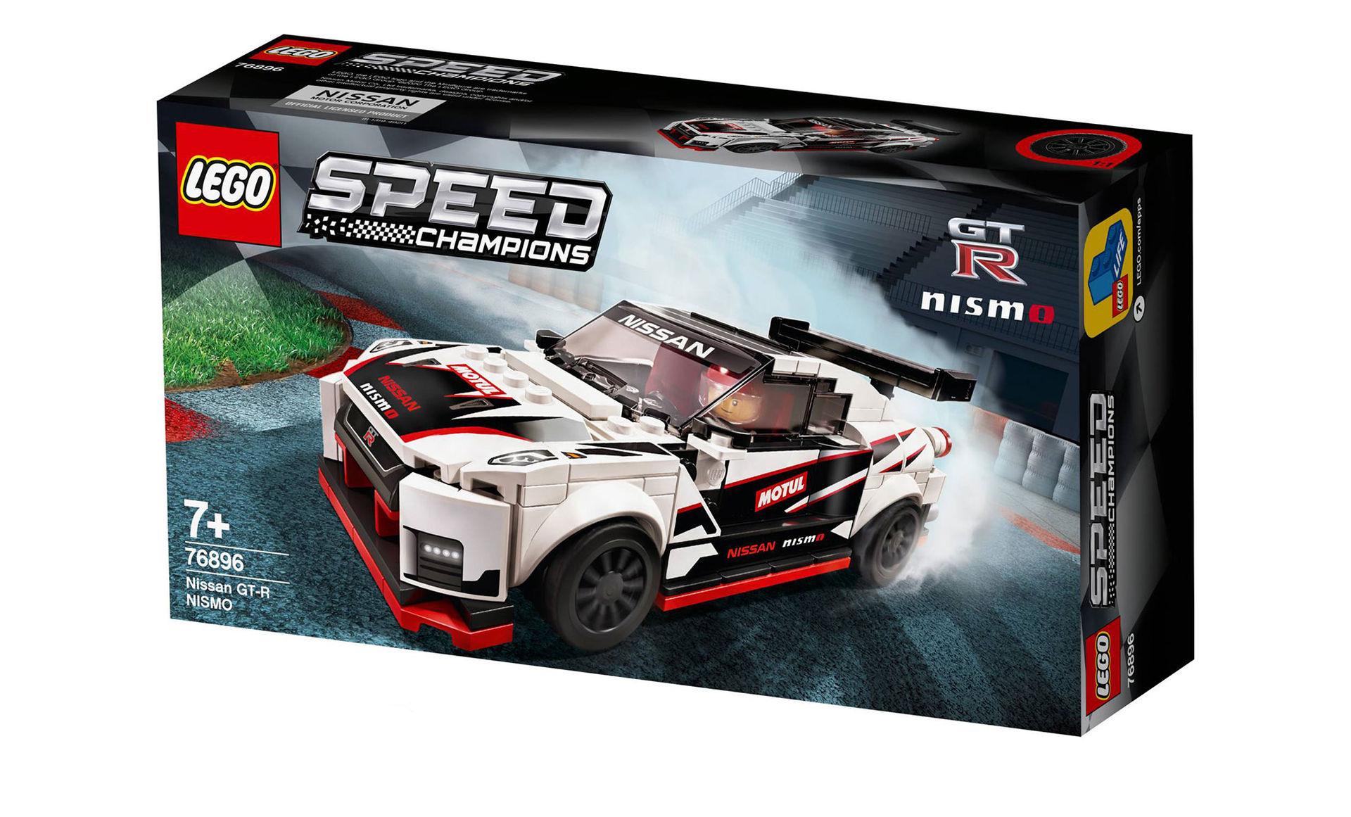 Nissan GT-R Nismo snart här som Lego