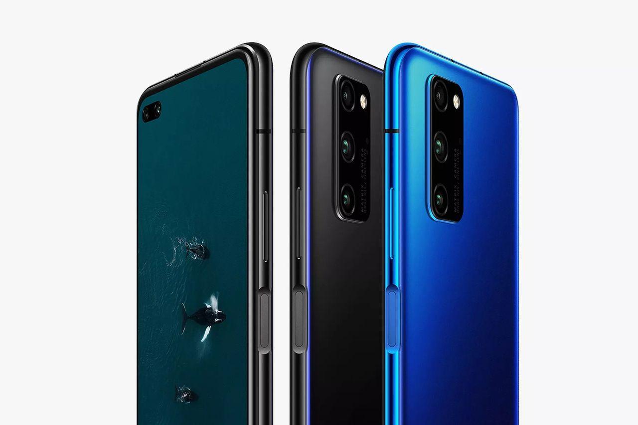 Huawei presenterar 5G-luren Honor V30 Pro