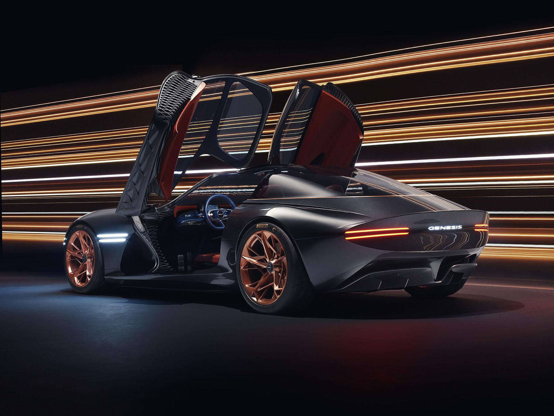 Nästa år visar Hyundai eldriven superbil