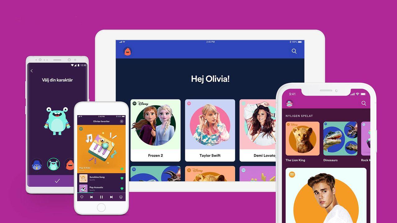 Spotify for Kids finns nu även i Sverige