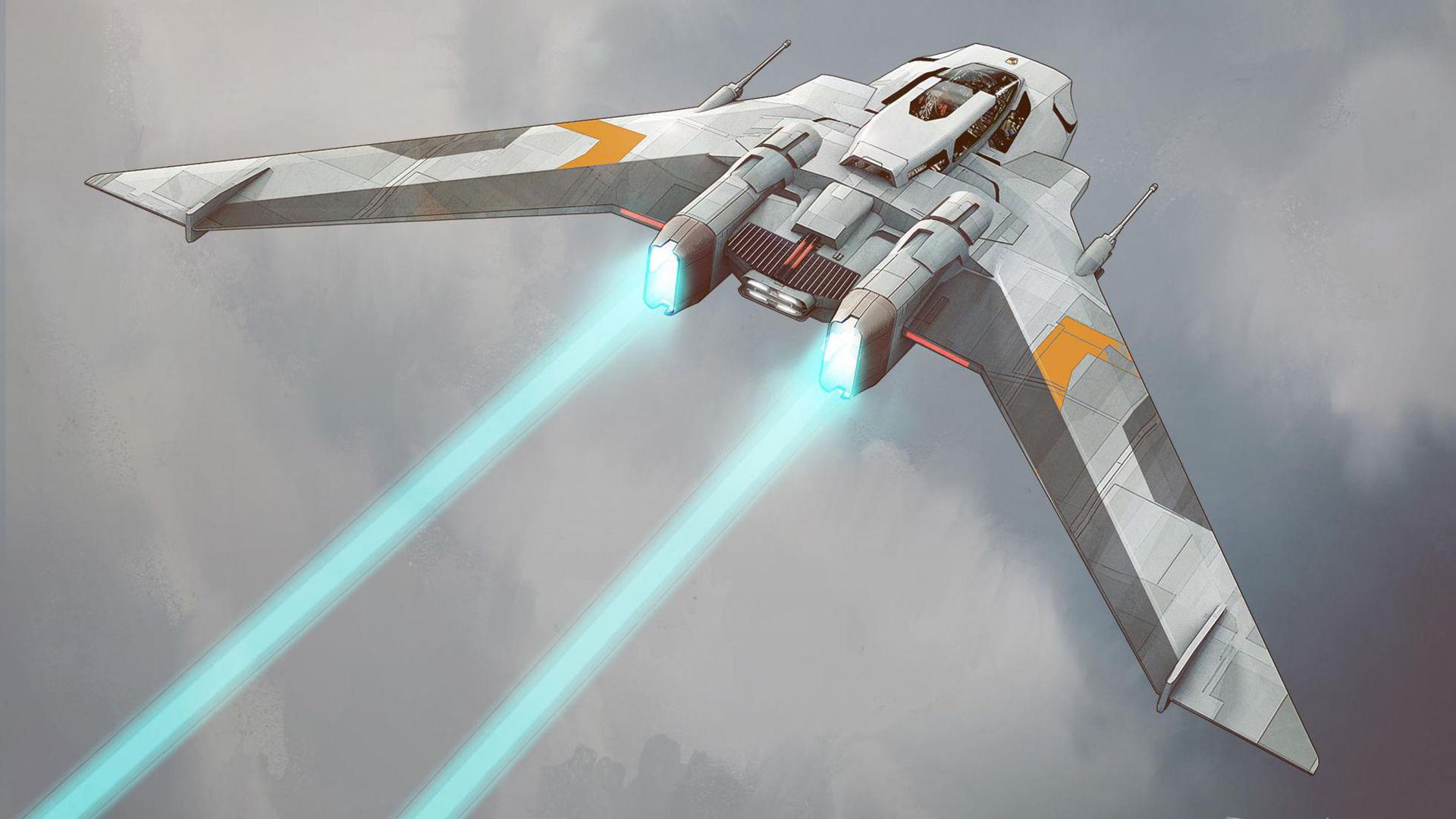 Nya bilder på Porsches Star Wars-skepp