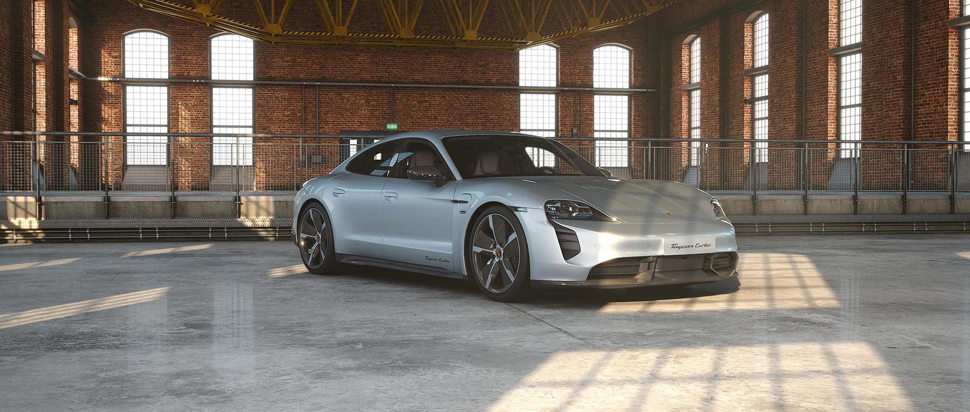 Porsche Exclusive gör Taycan lite mer exklusiv
