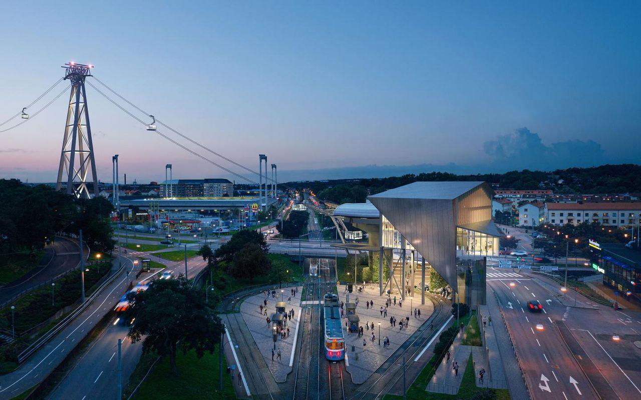 Göteborg fimpar planerna på en linbana