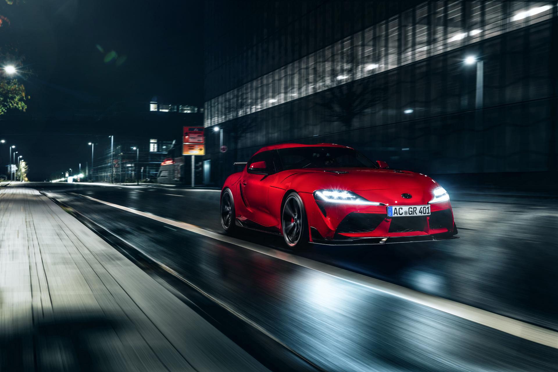 AC Schnitzer har moddat nya Toyota Supra