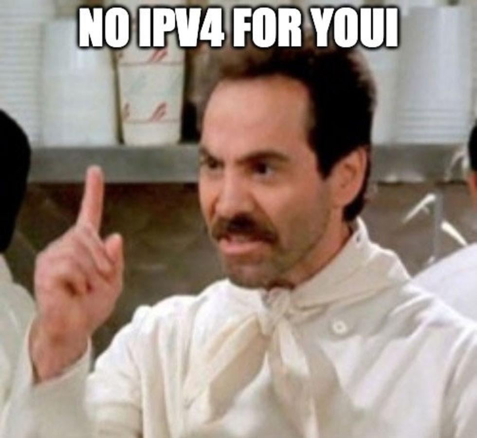 Nu är IPv4-adresserna i Europa slut