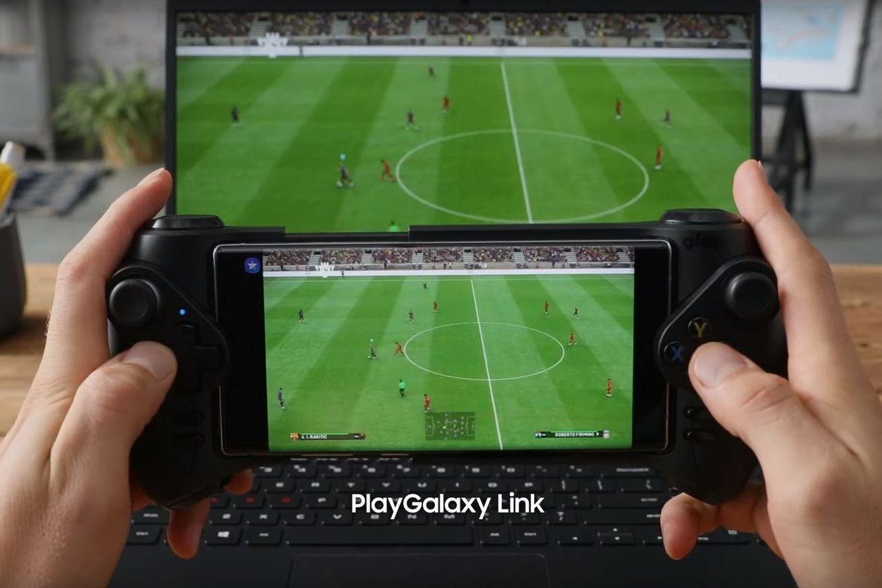 Samsung lanserar PlayGalaxy Link