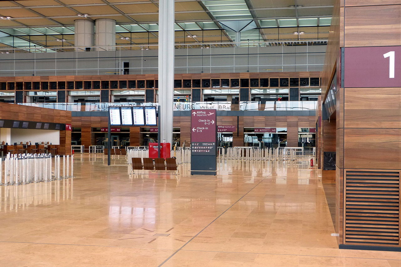 Berlins internationella flygplats ska öppnas nästa år